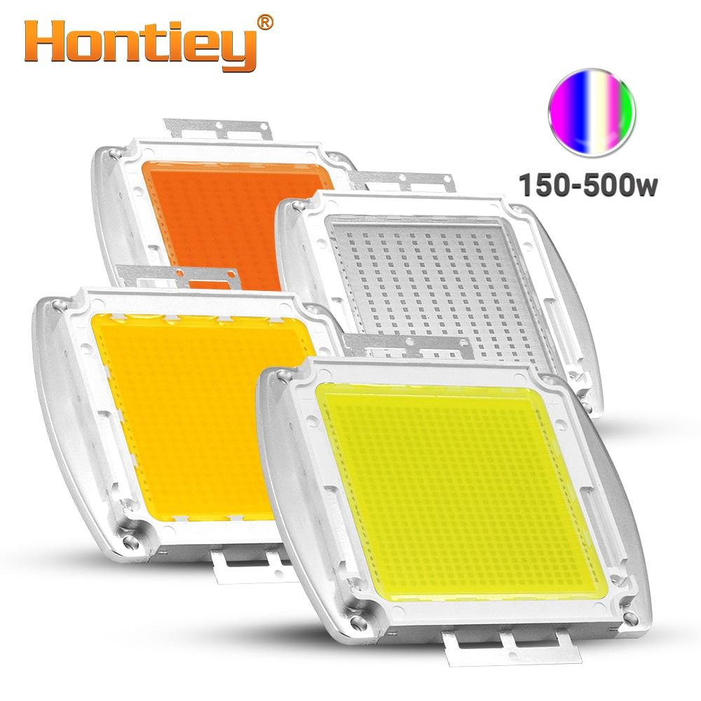 Hontiey 150 W 200 W 300 W 500 W Watt haute puissance LED blanc chaud blanc froid blanc naturel blanc bleu projecteur d'intégration UV