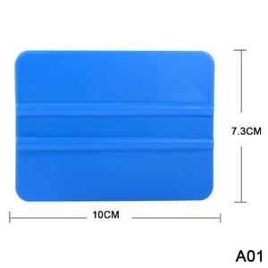 Image 3 - EHDIS 6pcs Carbon Fiber Vinyl Film Wrap Soft Plastic Scraper Window Tint Squeegee Glass Car Cleaning Tool Cleaner Tinting Tools