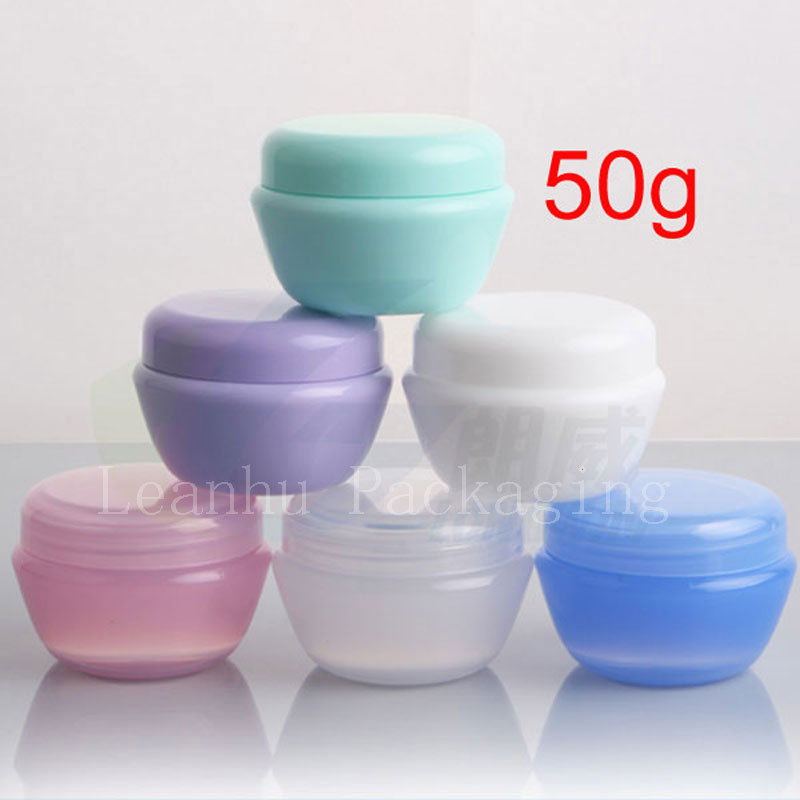50G Cream  Plastic Makeup  PP jar containers ,Empty Cosmetic - Skin Care Tool