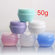 50G Cream Plastic Makeup PP jar containers ,Empty Cosmetic Container,Small Nail Art Cans,MINI Cream Jar1.7oz plastic DIY jars