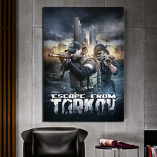 Wall Artwork Print Painting Home Decor 1 Panel Video Game Escape From Tarkov Solider Poster Modular Pictures Modern Living Room