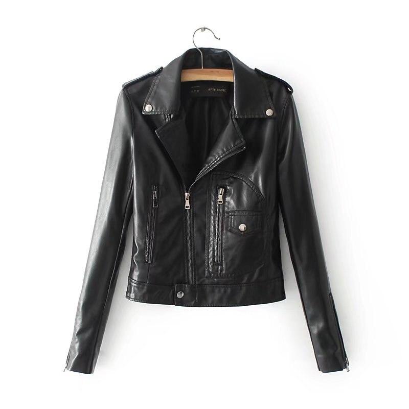 Courte Printemps Manteau Black Coat Noir Mince Red En Outwear Moto white Veste Jacket Femmes Automne Pu Cuir Lavé 2017 Base Outwear De Leather A1376 Jackets Femelle wine red UAPZvBzqn