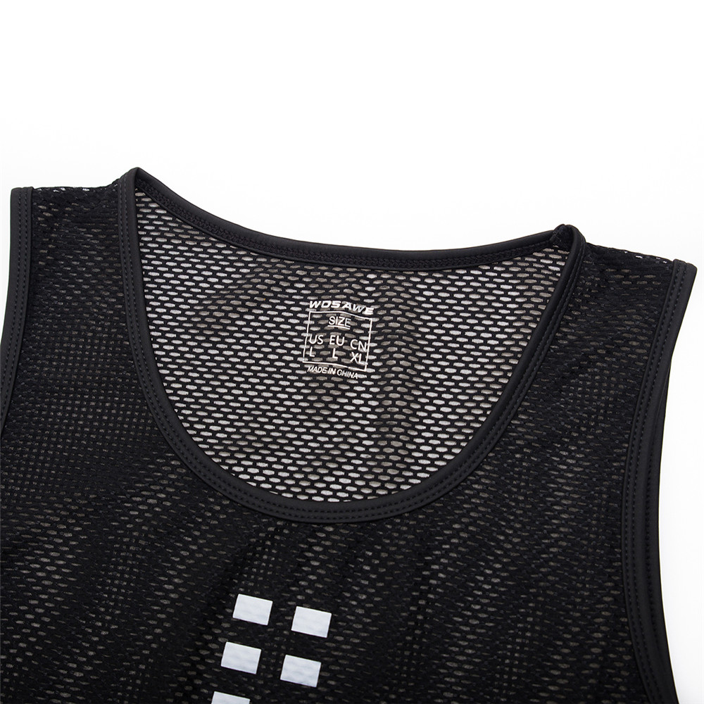 Visible Motorcycle Vest Breathable Mesh Running Tights Gilet Summer Motorbike Undershirt Moto Underwear Tops Base Layer in Shirts Tops from Automobiles Motorcycles