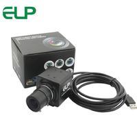 8MP Mini Video Usb Camera Module 3264X2448 MJPEG Sony IMX179 2 8 12mm Varifocal Lens Box