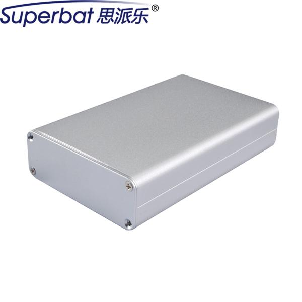 """Superbat 110*71*26mm Caja de Aluminio Extruido Recinto Instrumento Electrónico PCB Amplificador de fuente de Alimentación Caja de BRICOLAJE 4.32 """"* 2.78"""" * 1.02"""""""