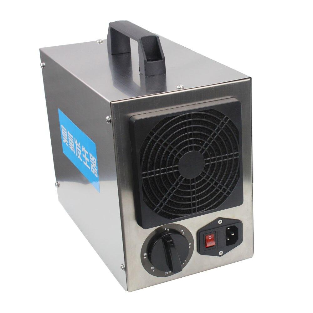 Oczyszczacz powietrza Generator ozonu 220v 7g 7000mg Ozonizador ozonizator filtr powietrza Eliminator zapachu sterylizator przełącznik czasowy ue wtyczka