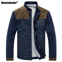 Mountainskin Демисезонный Для мужчин куртка Бейсбол равномерное тонкий Повседневное пальто Для мужчин s брендовая одежда Модные пальто Мужская