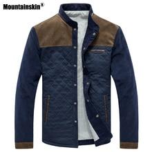Mountainskin ฤดูใบไม้ผลิฤดูใบไม้ร่วงผู้ชายเสื้อเบสบอลชุดเสื้อลำลองบุรุษแบรนด์เสื้อผ้าแฟชั่นเสื้อแจ็คเก็ตชาย SA507
