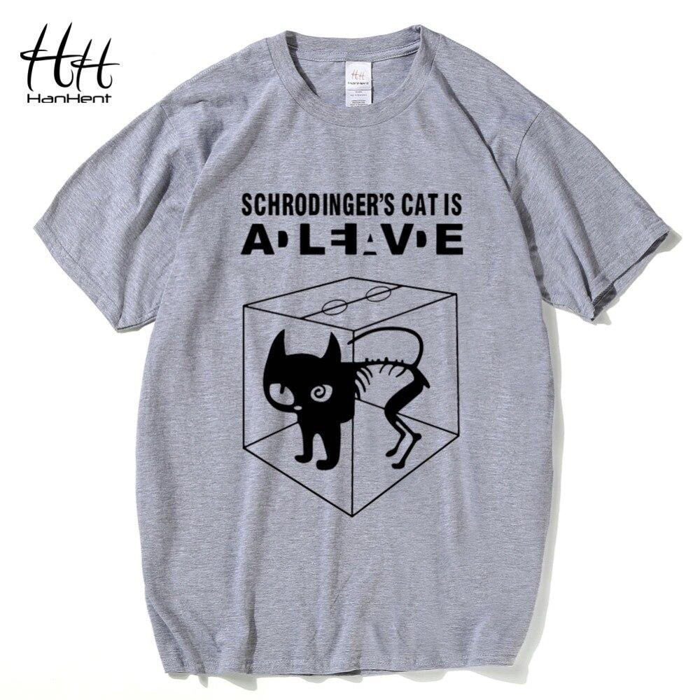 HanHent The Big Bang Theory T-shirts Mannen Grappige katoenen korte - Herenkleding - Foto 4
