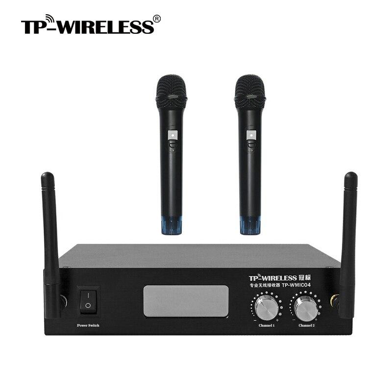 TP-WIRELESS 2 canale 2.4GHz Handheld Digital Wireless Microphone - Audio și video portabile