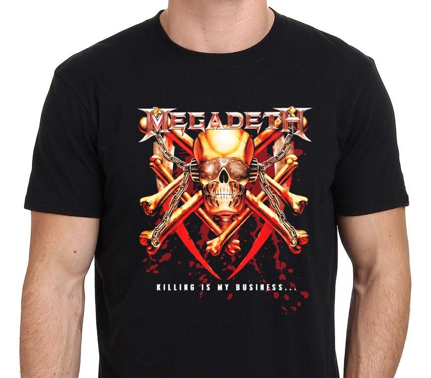 Megadeth - Killing Is My Business Mens Black T-Shirt Size: S-M-L-XL-XXL