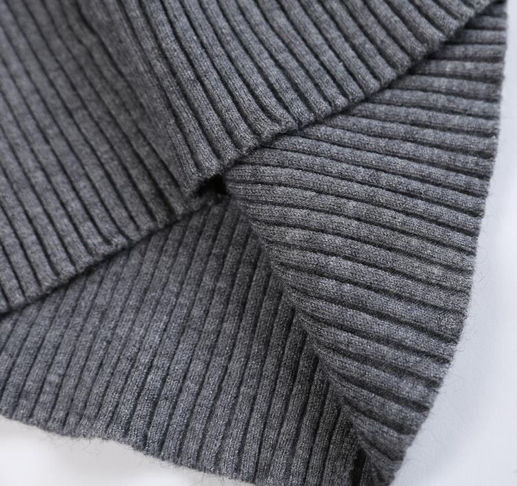 New 17 Spring Fashion Women sweater high elastic Solid Turtleneck sweater women slim sexy tight Bottoming Knitted Pullovers 39