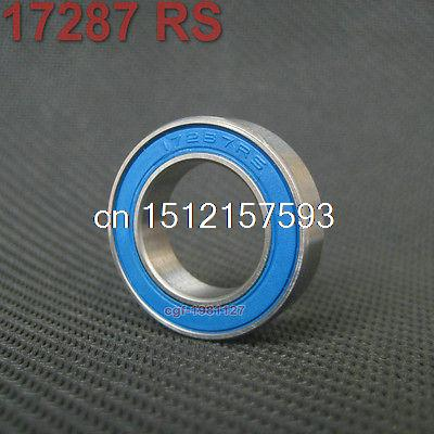17287 2RS Si3N4 Ceramic Ball Bearing Rubber Sealed Bike Parts 17 x 28 x 7mm 1pc 6217 2rs 6217rs rubber sealed ball bearing 85 x 150 x 28mm