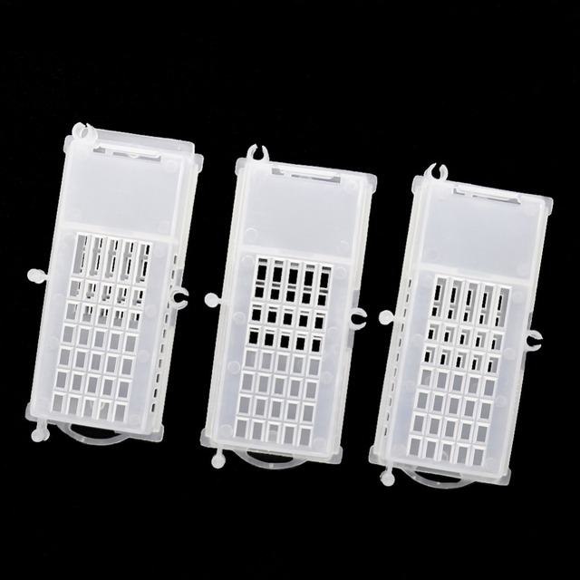 10 Pcs Beekeeper Bee Transparent Queen Cages Insect Equipment Queen House Beehive Beekeeping Tools