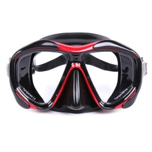 WHALE Brand High Quality Adult Scuba Diving Mask Professional diving glasses Swimming Goggles with Toughened Glass Equipment