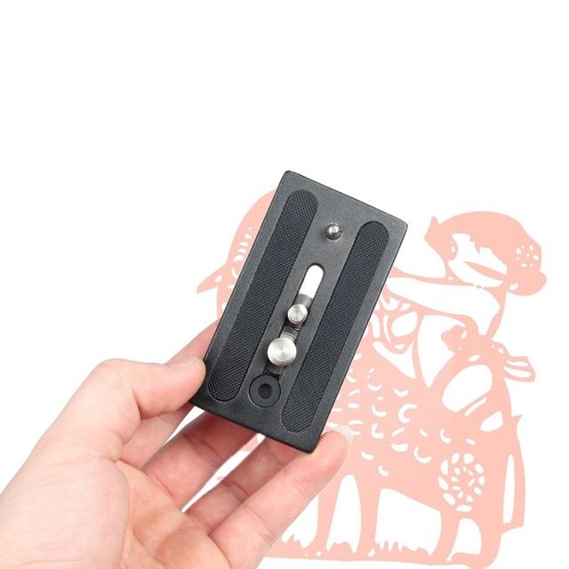 Jieyang JY0508 JY0506HP placa de liberação rápida para JY0506 JY0507 JY0509 cabeça do tripé monopé braçadeira de Base placa 45 * 85 mm