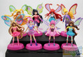 8 pçs/lote Winx Club Boneca Figuras PVC 8 cm Dolls Para Meninas Winx Club Figuras de Anjo