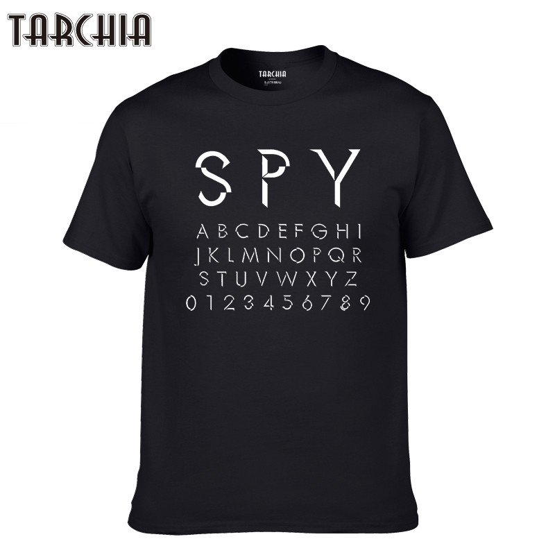TARCHIA 2019 homme t shirt tee plus number casual New stock vector alphabetic men short sleeve t-shirt tops cotton tees boy