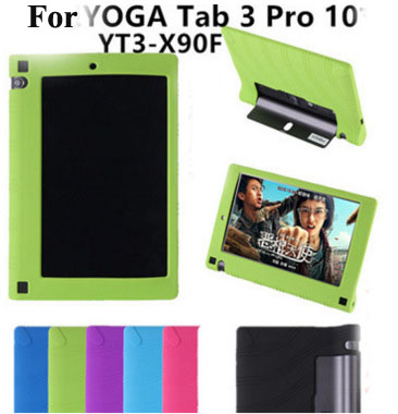 Case for Lenovo Yoga Tab 3 10 Pro X90 X90F X90M X90L Shockproof Silicon Rubber Case Cover for Yoga Tab 3 10 Pro X90 Funda Case parastone pro 10 статуэтка медсестра profisti parastone
