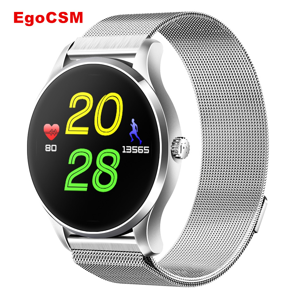EgoCSM K88 Smart watch Bluetooth 4.0 Smart Wristwatch Waterproof IP65 Heart Rate Monitor Pedometer Fashion Watch for Androis IOS цена и фото