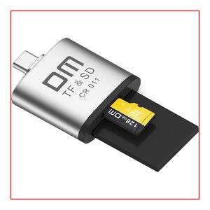 Image 3 - סוג C כרטיס קורא מיקרו SD וכרטיס SD 2 ב 1 USB C כרטיס קורא CR011