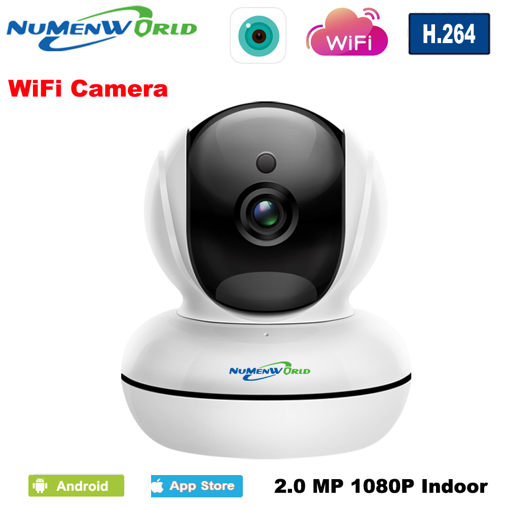 1080P WiFi Wireless Security IP Camera P2P Pan/Tilt Two-Way Audio&Night Vision Home Surveillance Camera with Baby Monitor Video fghgf 720p wireless ip security camera baby pet video monitor home security system with pan and tilt two way audio night vision