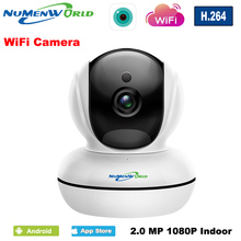 1080P WiFi Wireless Security IP Camera P2P  Pan/Tilt Two-Way Audio&Night Vision Home Surveillance Camera with Baby Monitor Video