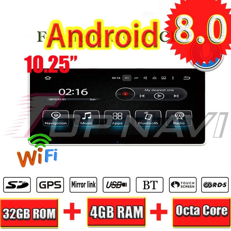 Topnavi Android 8.0 voiture PC lecteur Auto Radio pour Mecerdes Benz C (2014 2005 2006 2007 2008-2017) GPS Navigation 4 + 32 GB Octa Core