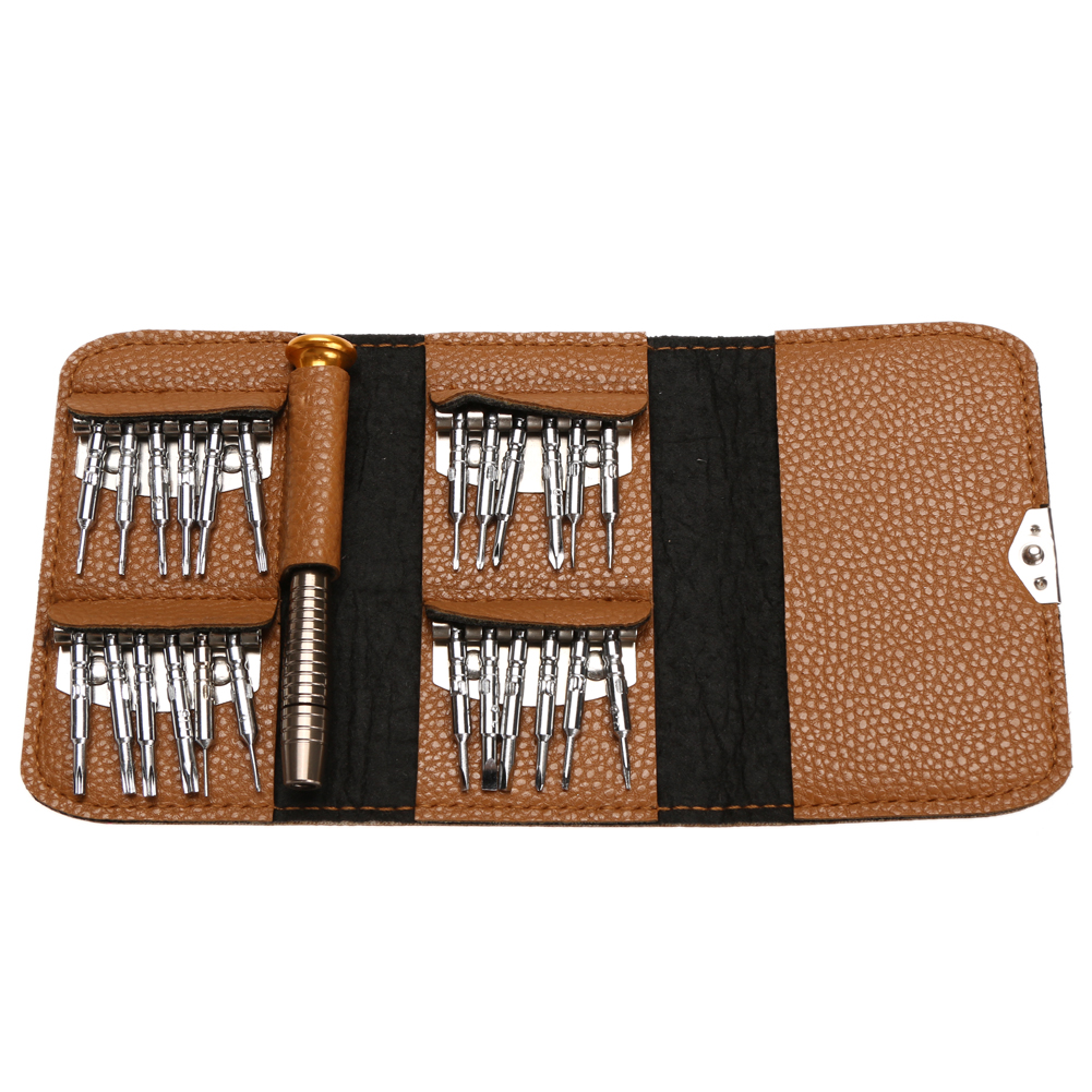Mini  Precision Screwdriver Set 25 in 1 Torx Electronic Screwdriver Opening Repair Tools Kit for iPhone Camera Watch Tablet PC ...