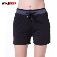 Summer Sport Training Wear Shorts For Women Elastic Waist Quick Drying Breathable Gym Workout Yoga Shorts Loose Plus Size M-3XL