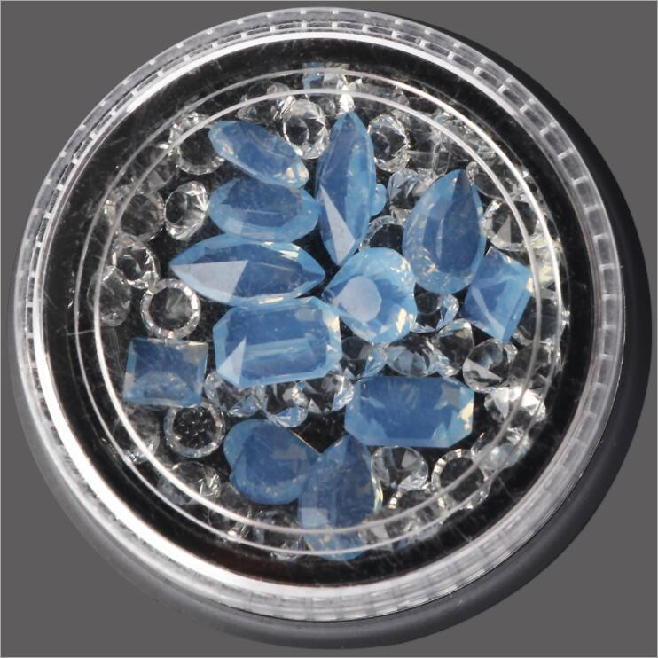 1Box New Symphony snowflake Glitter Powder For Nails Shinning Dust Nail Art DIY Chrome Pigment Nail Decoration Tools
