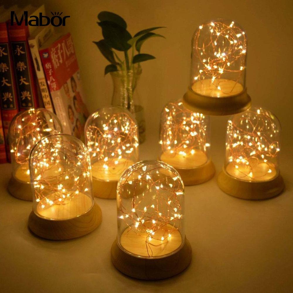 Ночник светильник красивый серебряный Цветы Новинка комнаты декор дома украшения подруга подарок