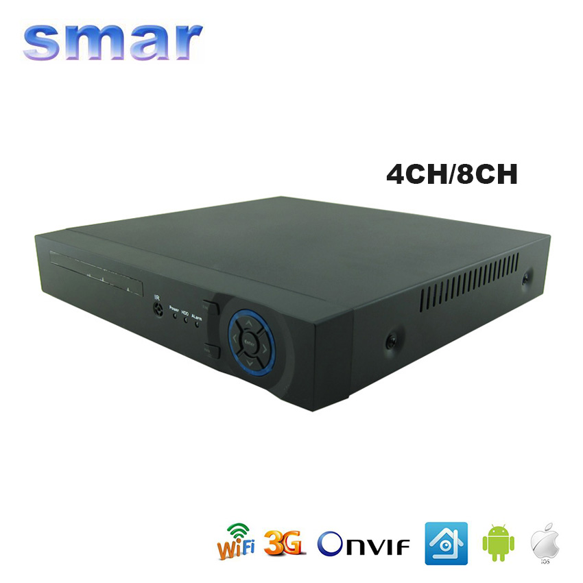 Smar 2015 New Arrival AHD H 1080P 4 Channel AHD DVR Recorder 3 in 1 Hybrid