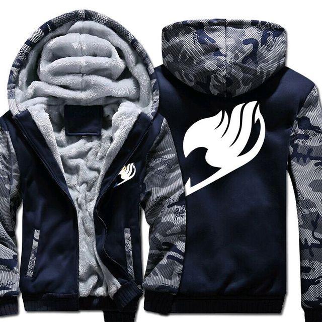 Newest Warm Fairy Tail Hoodie Sweatshirt