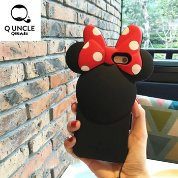 Minne Mickey Mouse Soft Silicone Phone Case