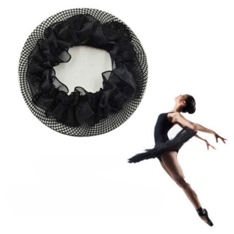 Praktisch Neue Mode Unsichtbare Elastische Spitze Haar Net Ballett Tänzerin Net Tasche Kinder Kopf Blume Ballett Tanz Skating Mesh