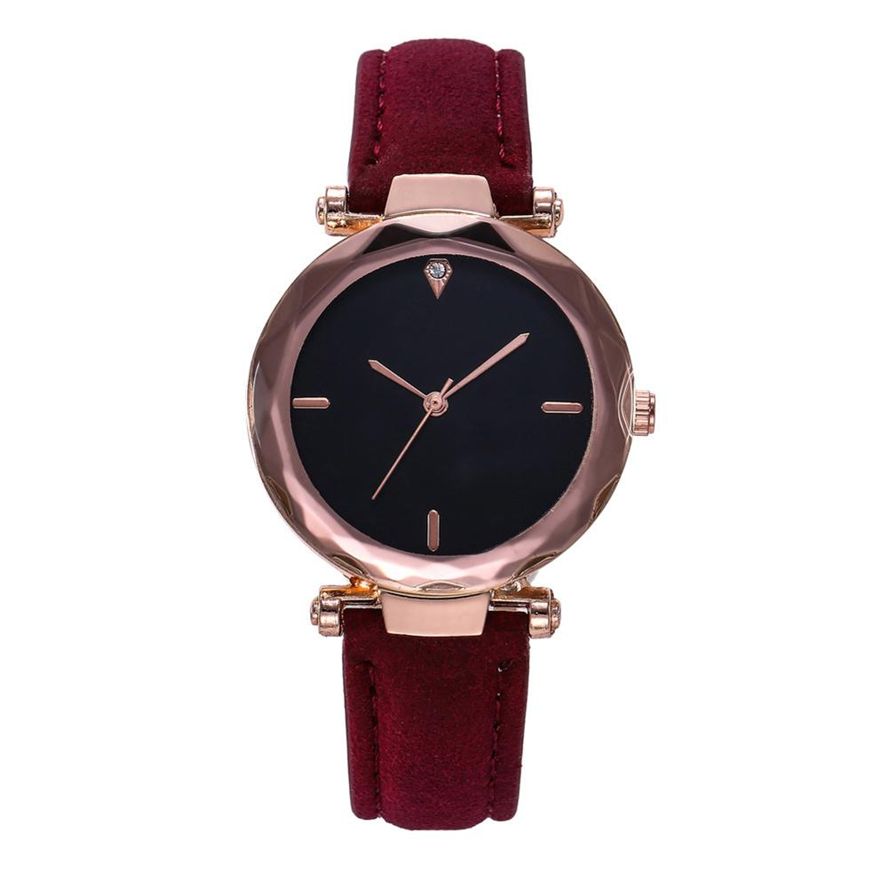 Quartz Watches Men's Watches Quartz Watches Punk Casual Watch Round Dial Analog Quartz Wrist Watch Synthetic Leather Band Comfortable And Easy To Wear