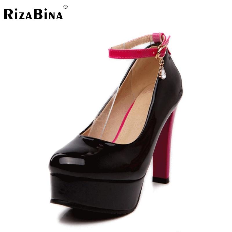 free shipping high heel shoes women sexy dress footwear fashion platform pumps P14855 EUR size 32-43 free shipping candy color women garden shoes breathable women beach shoes hsa21