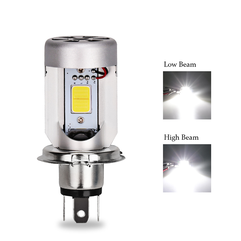 2000lm HS1 H4 Led Motorcycle Scooter Light Bulb Led HS1 Light Scooter Xenon H4 Motorcycle High Low Headlight Bulbs For Suzuki