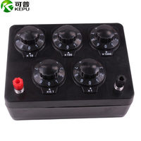 Resistance box Electrical instrument 0 9999.9 Ohms Physical electrical experiment equipment free shipping   -