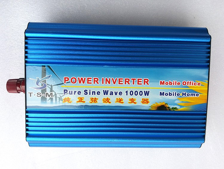 цена на pure sine wave power inverter DC12V to AC110V 1000w max 2000w Newest high efficient solar inverter