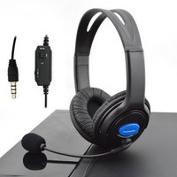 3 5mm Wired Gaming Headsets Headphones With Mic For PS4 Sony PlayStation 4 PC FW1S