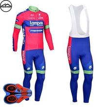 2018 Pro Winter Thermal Fleece Cycling Jersey Bib Pants Set Maillot Ropa Ciclismo MTB Bicycle Wear Long Sleeve Men Bike Clothing