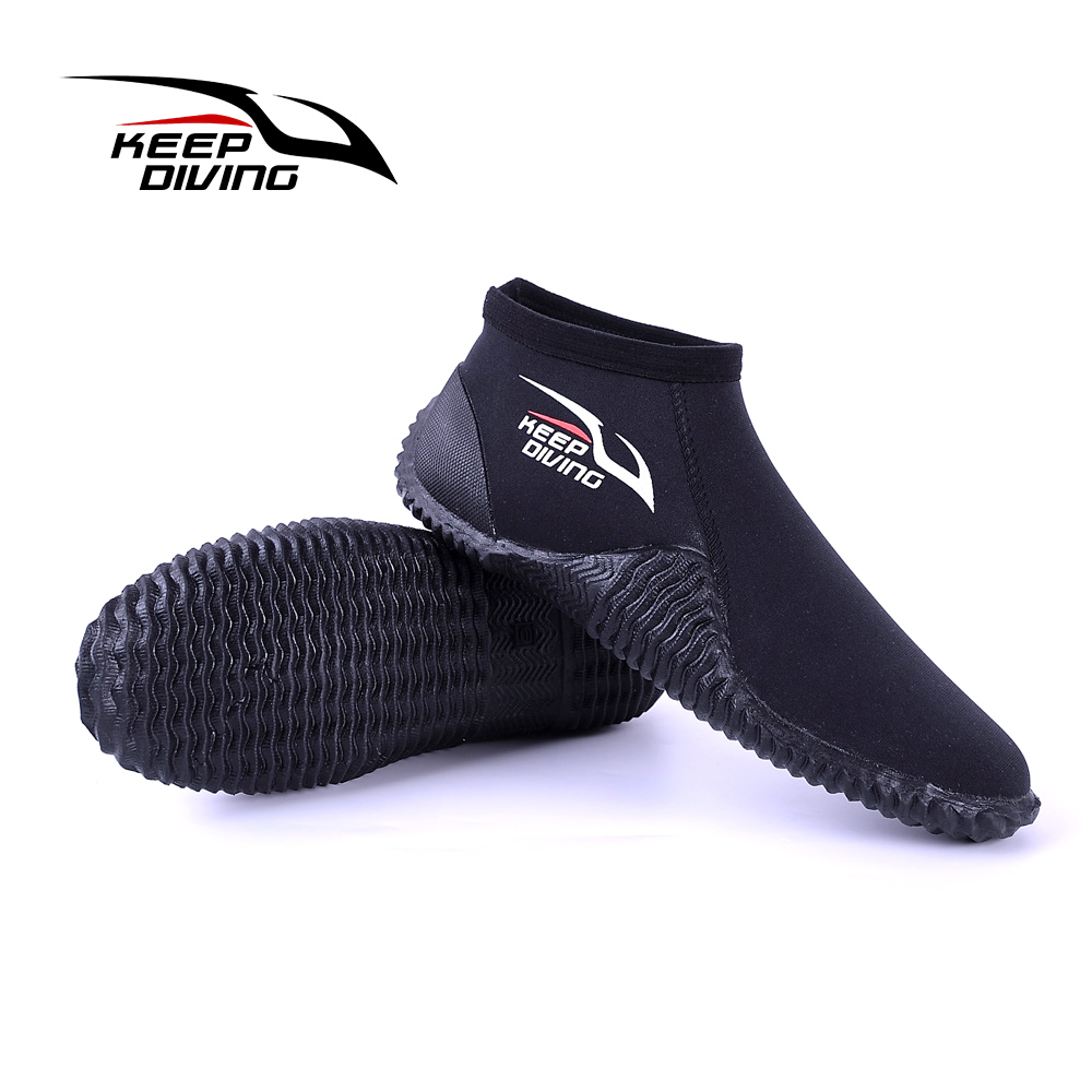 KEEP DIVING New Arrival Water Shoes Quick Drying Slip-On Aqua Dive Boots Shoes For Beach Surf Swim Driving Boating Kayaking