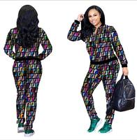 2019 African style spring/summer wear long sleeved club suit