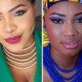 Collar de oro de múltiples capas plateado cierres magnéticos declaración choker collar y del pendiente de la boda nigeriano perlas africanas sistemas de la joyería