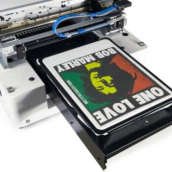 A3 size DTG printer met Witte Inkt Direct naar Kledingstuk drukmachine