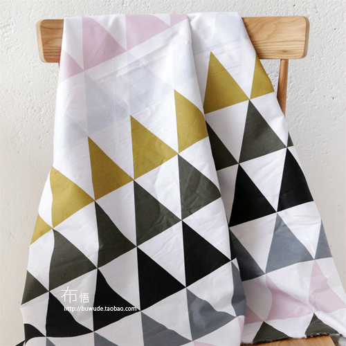 Superb 235cm X50cm Twill Cotton Fabric Graphics DIY Twill Sheet Quilt Cover Bed  Linen Bedding Geometryhone Decoration Cloth 280g/m In Fabric From Home U0026  Garden On ...
