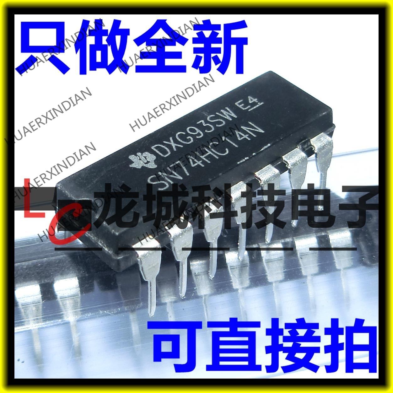 Новый SN74HC14N 74HC14N 74HC14 CMOS в наличии