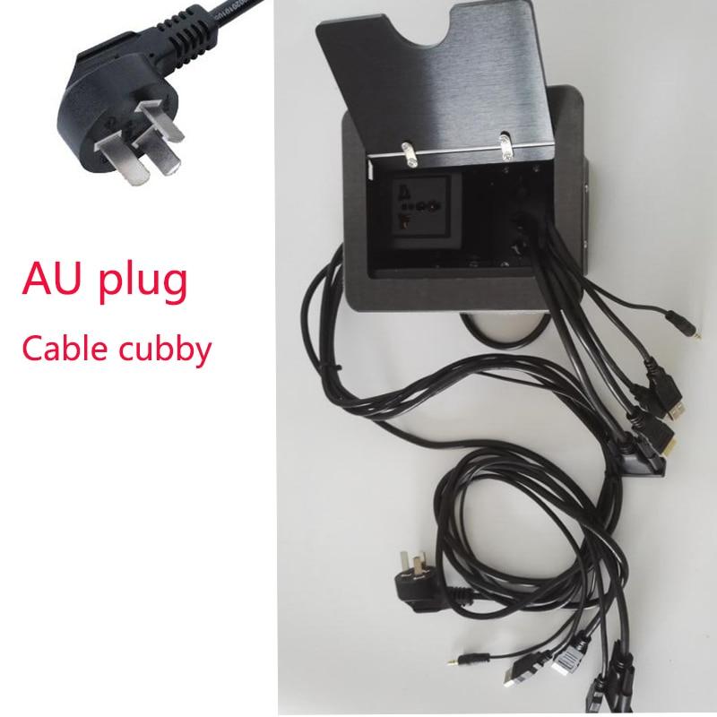 Online Shop Universal Power AU Plug Conference Table Connectivity - Table connectivity box